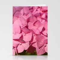 hydrangea Stationery Cards featuring Hydrangea by Susann Mielke