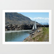 Come Sail Away Art Print