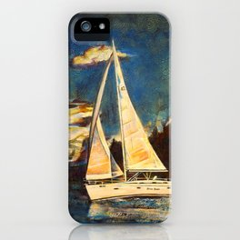 Blue Duet iPhone Case