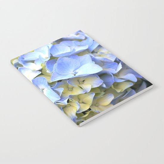 Soft Periwinkle Hydrangea Notebook