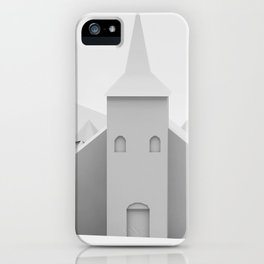The Lonely Church iPhone Case