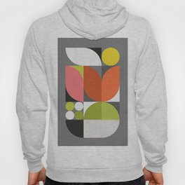 Mid Modern Geometric Bloom Hoody