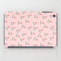watermelon iPad Cases featuring Watermelon by Menina Lisboa