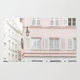 Pink house Rug