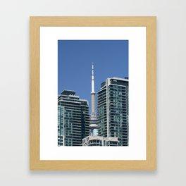 Toronto CN Tower Framed Art Print