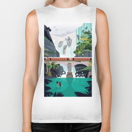 Dhudsagar waterfalls ft. Cute couple Biker Tank