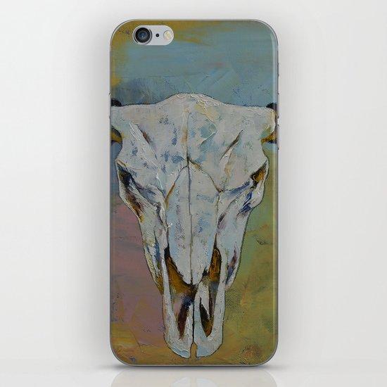 Bison Skull iPhone & iPod Skin