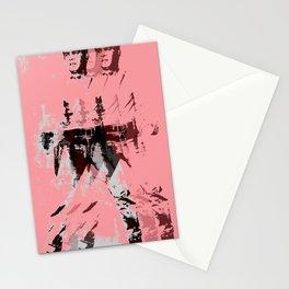 FPJ pastel peach Stationery Cards