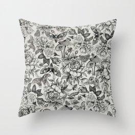 Botanical Pattern II Throw Pillow