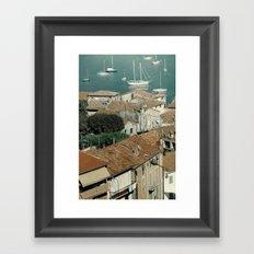 sky of water Framed Art Print