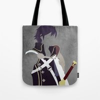 fire emblem awakening Tote Bags featuring Chrom Fire Emblem Awakening by MKwon