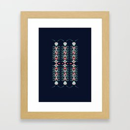 Ethnic insects Framed Art Print