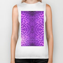 Purple Strawberry Suprise Biker Tank