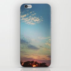 Dark Clouds File in When the Moon is Near iPhone & iPod Skin