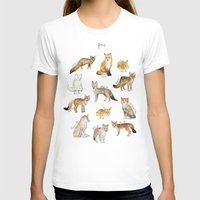 foxes T-shirts featuring Foxes by Amy Hamilton