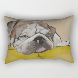 Mr Fatty Shortlegs Rectangular Pillow