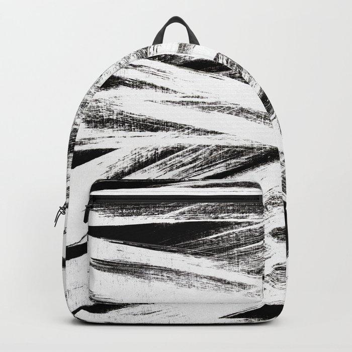 White brush Backpack