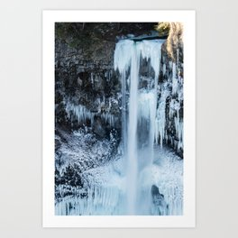 Some things are worth freezing for Art Print