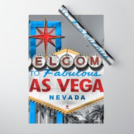 Welcome to Fabulous Las Vegas Wrapping Paper