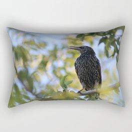 Common Starling Rectangular Pillow