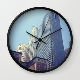 Downtown Los Angeles (View from Pershing Square) Wall Clock