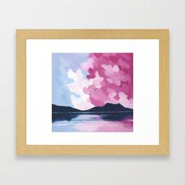 Simple Sea Framed Art Print