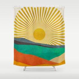 hope sun Shower Curtain