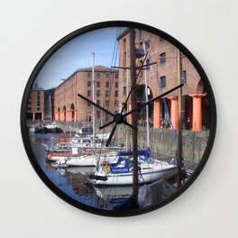 Albert Dock, Liverpool Wall Clock