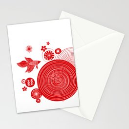 CNY14 by Friztin Stationery Cards
