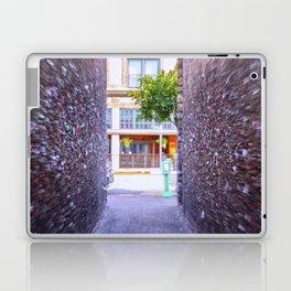 Emergency Exit Bubblegum Alley San Luis Obispo Laptop & iPad Skin