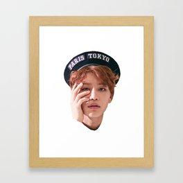 taeil head Framed Art Print