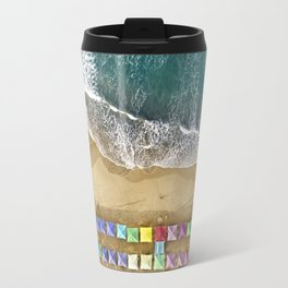 Aerial view of the beach in Mexico Travel Mug
