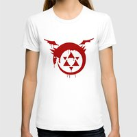 fullmetal T-shirts featuring Ouroboros by KanaHyde