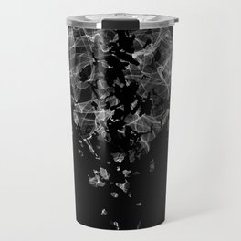 smoke broken heart Travel Mug
