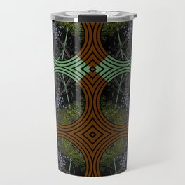 Nature Portals Pattern Travel Mug