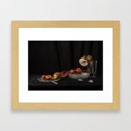 Still life of decay Framed Art Print