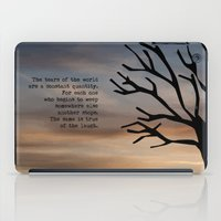 literary iPad Cases featuring Waiting for Godot, Samuel Beckett – literary art by pithyPENNY