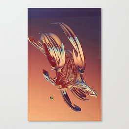 Spinning Glass 4 Canvas Print
