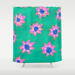 Key West Rose Shower Curtain