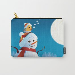 Join the spirit of Christmas Carry-All Pouch
