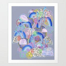 Alien Organism 10 Art Print