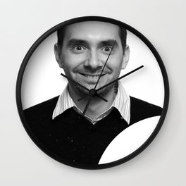 passport photo Wall Clock