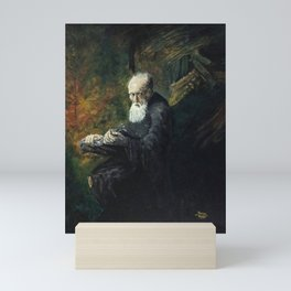THE PHILOSOPHER Mini Art Print