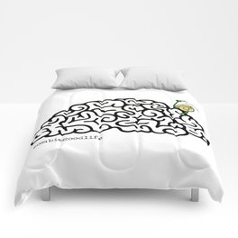 Zombie Snail Comforters