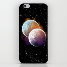 Together forever - Planets iPhone & iPod Skin