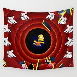 Simpsons Pop Art Wall Tapestry