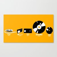 movies Canvas Prints featuring MOVIES by dodadue89