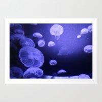 Jellyfish Disco Art Print