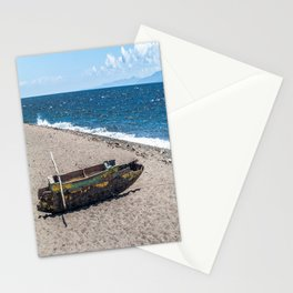 Sea Kayak Stripped By Nature Stationery Cards