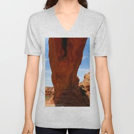 The Base Of An Arch Unisex V-Neck